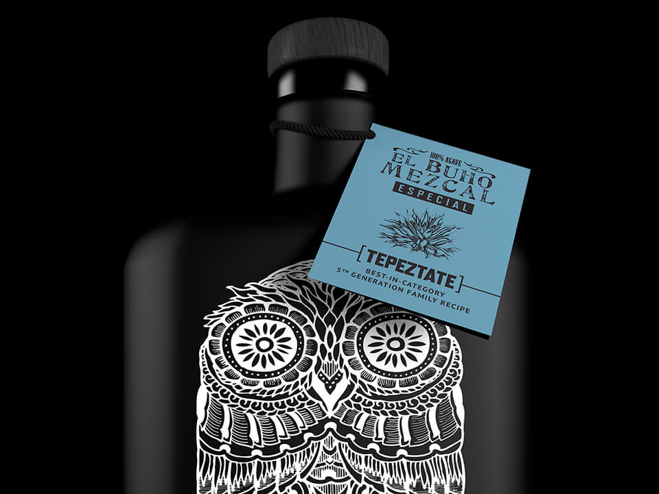 Tequila Bottle Label Design By Alcohol Brand Marketing Agency