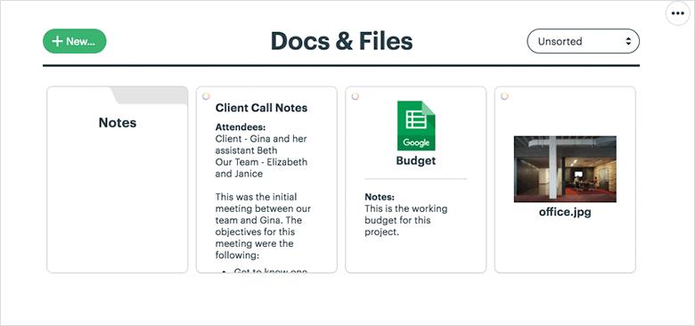 Basecamp-Docs and Files