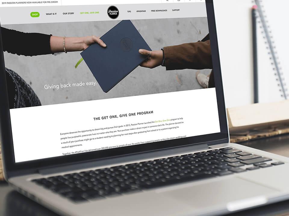 BigCommerce Developer Agency Desktop View for Software Developer