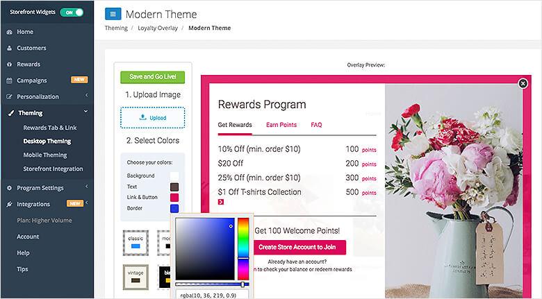 BigCommerce Marketing Apps Blog Swell Rewards Program Theme Screenshot