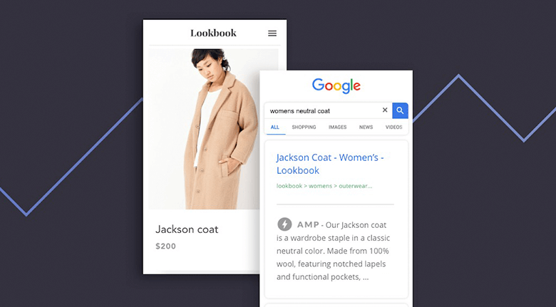 BigCommerce Web Design Google AMP Screenshot