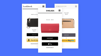 Three Digital Wallet Examples Featured On A BigCommerce Designer's Graphic