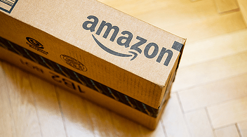 Packaging Of A Parcel Sent From An eCommerce Company Amazon