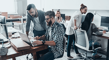 eCommerce Professionals At A Marketing Agency Working On Website Migration