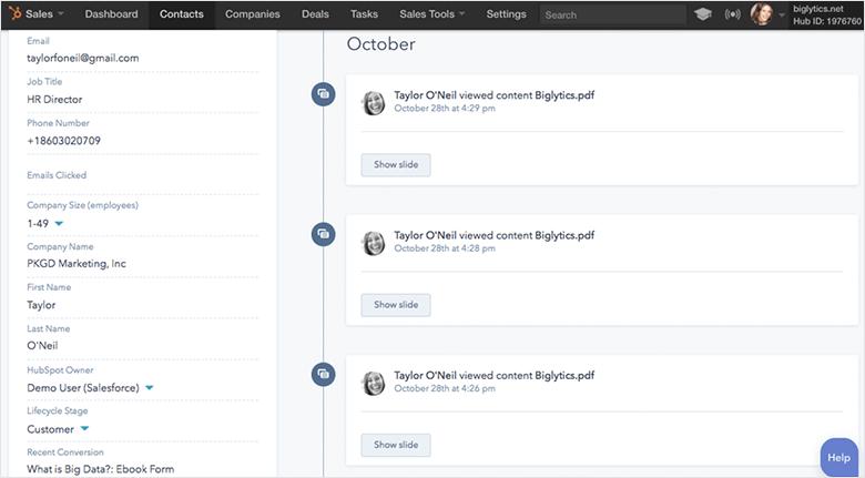 Email Marketing Platforms Blog HubSpot Screenshot