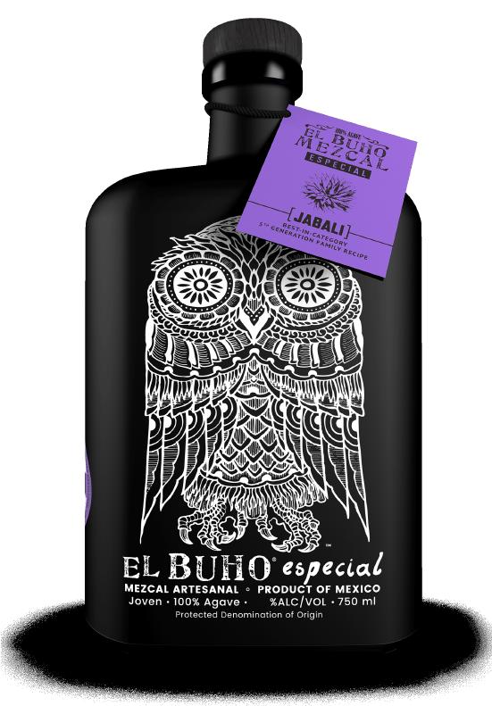 El Buho Bottle Designed by Marketing Agency