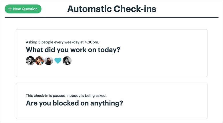 Work Collaboration Platform Automatic Checkin Screenshot