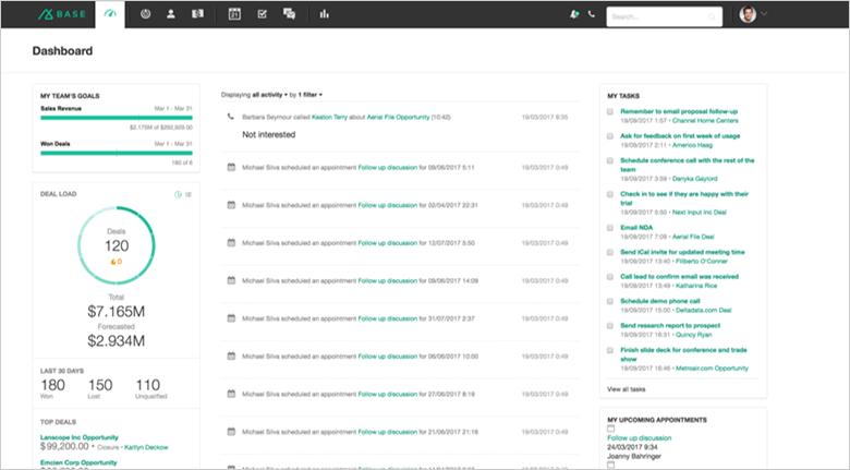 CRM Tools Base Screenshot