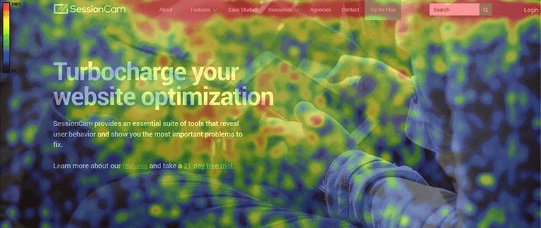 Heatmap Tools Hover Maps Screenshot