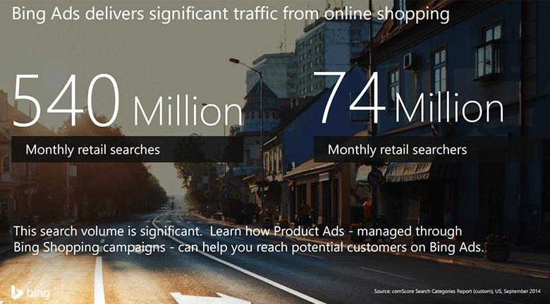 Bing Ads Blog Search Statistics Screenshot