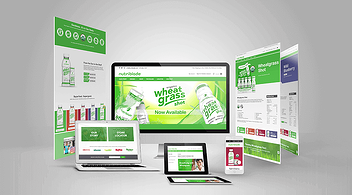 Examples of Landing Pages Featured on Website Agency Portfolio
