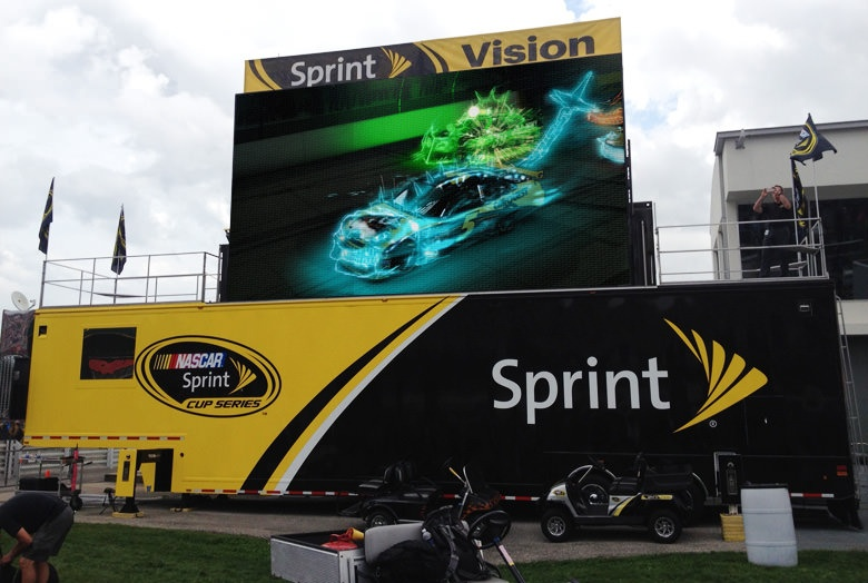 Extreme Experiential Marketing Vehicles Blog Sprint Trailer Image