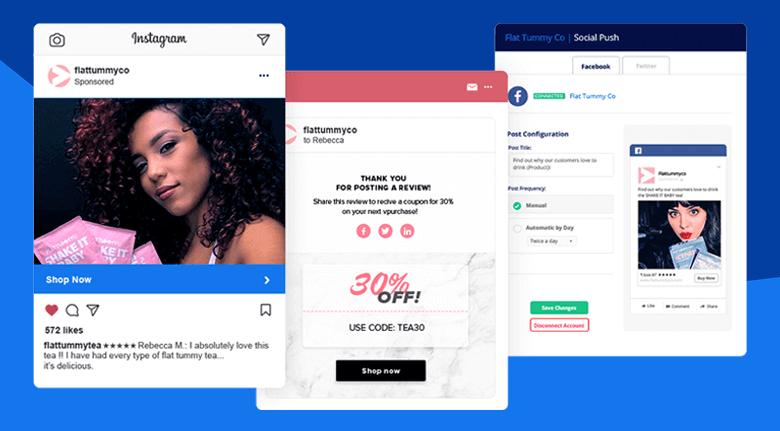 Marketing Strategy Instagram Integration Screenshot