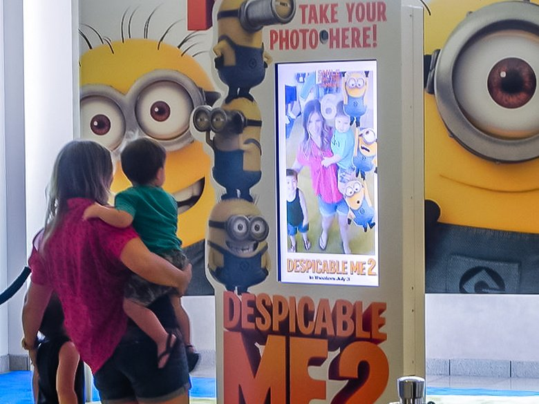 Event Marketing Agency Photo Of Despicable ME 2 Photo Booth