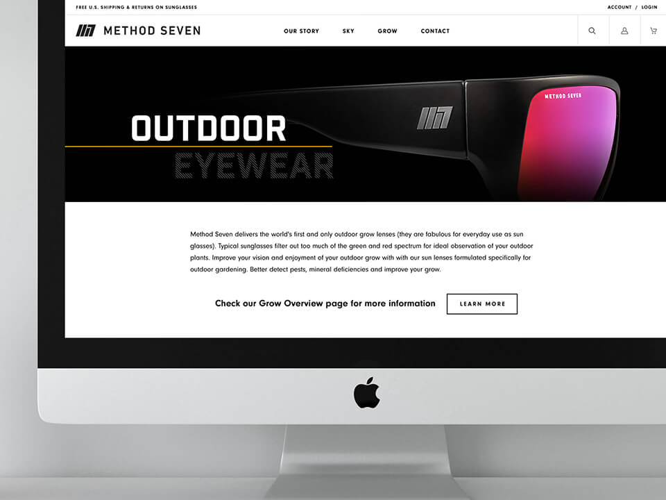Jewelry and Apparel Marketing for BigCommerce Online Store on Desktop