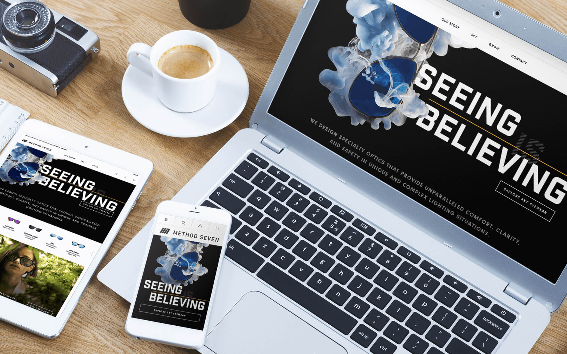 Jewelry and Apparel Marketing for BigCommerce Online Store on Different Devices