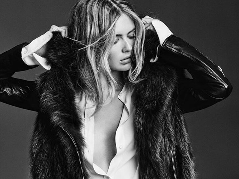 Fashion Digital Marketing Agency Ad of Woman Wearing Fur Coat