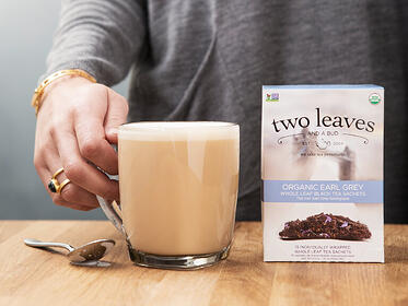 Two Leaves Tea; CPG Marketing Agency Case Study - Eventige