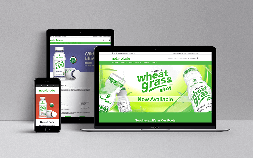 CPG Marketing Agency of Food and Beverage Company on Devices