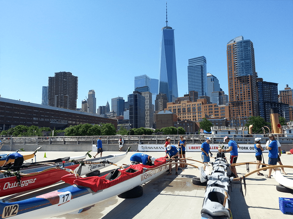 Event Marketing Company Event On Canoe For Airline