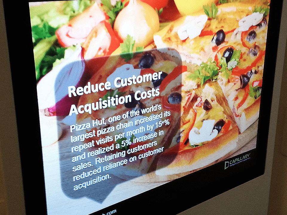 Event Marketing Firm Displaying Information On Screen
