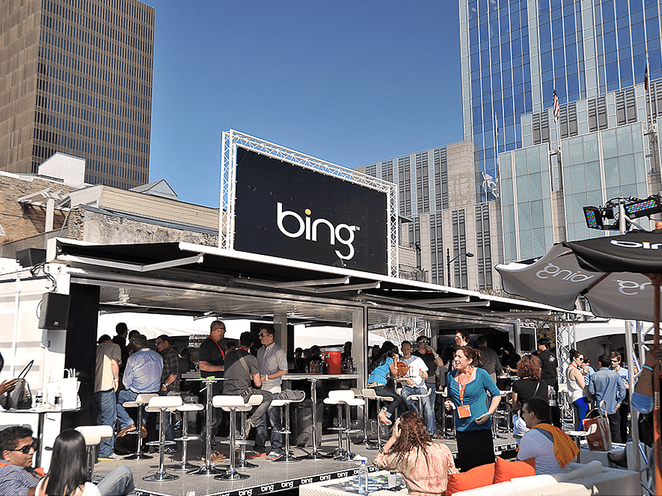 Experiential Marketing Outdoor Event Activation With A Bar For Adults
