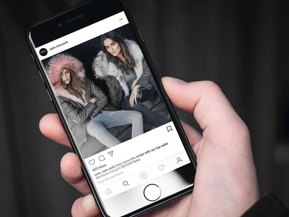 Fashion Digital Marketing Agency Instagram Post for Luxury Fashion Branding