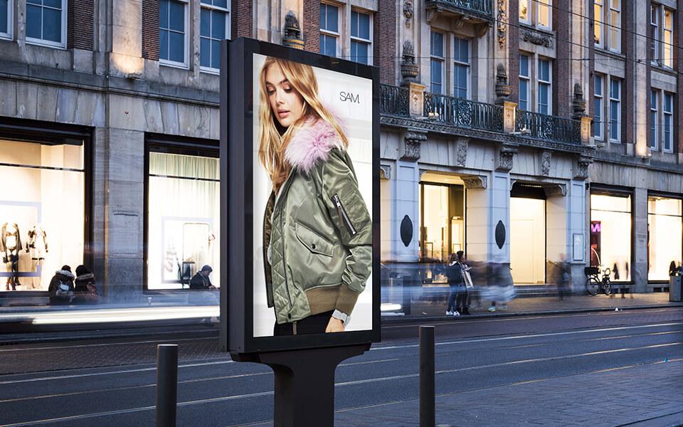 Fashion Digital Marketing Agency Outdoor Advertising for Luxury Fashion Branding