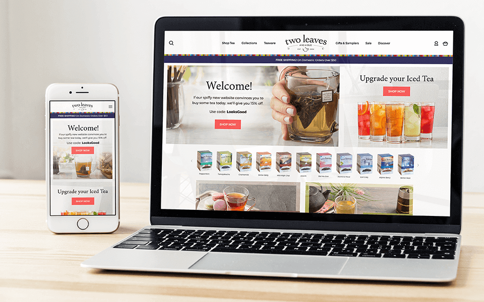 Full-Service CPG Marketing Agency on Different Devices for Beverage Brand