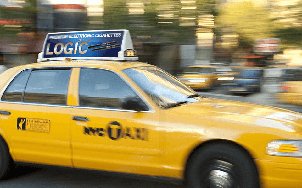 Vape Marketing Agency Taxi Advertising of eCigarette and Vaping Retailer