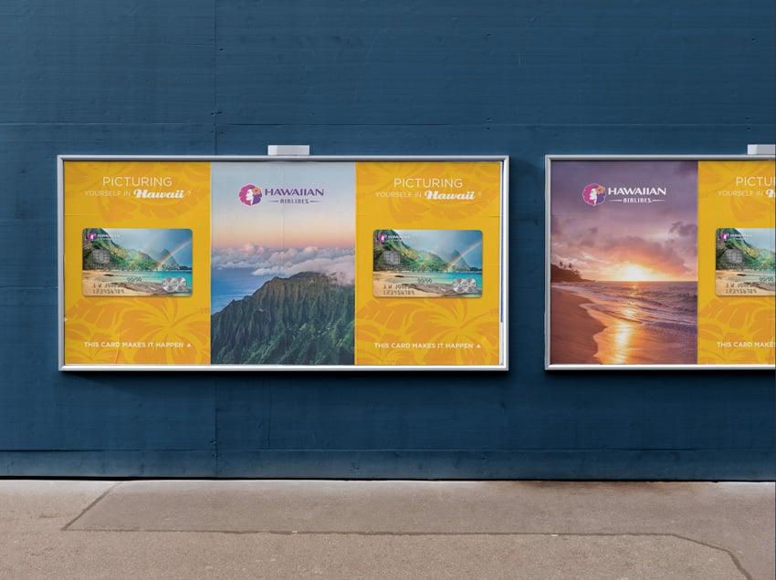 Hawaiian Airlines Marketing Billboards