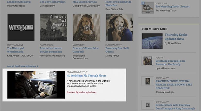 Digital Marketing Native Ads Screenshot