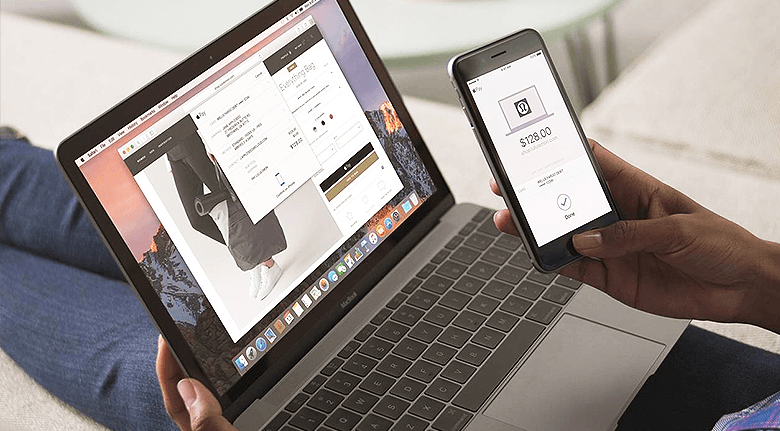 Person-Making-Purchase-With-Apple-Pay