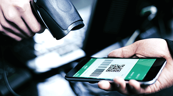 Scanning Of A Relevant And Correctly Placed QR Code From A Smartphone Screen
