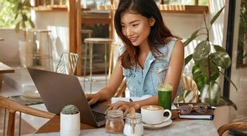 Young Marketing Expert Optimizing SEO On Laptop