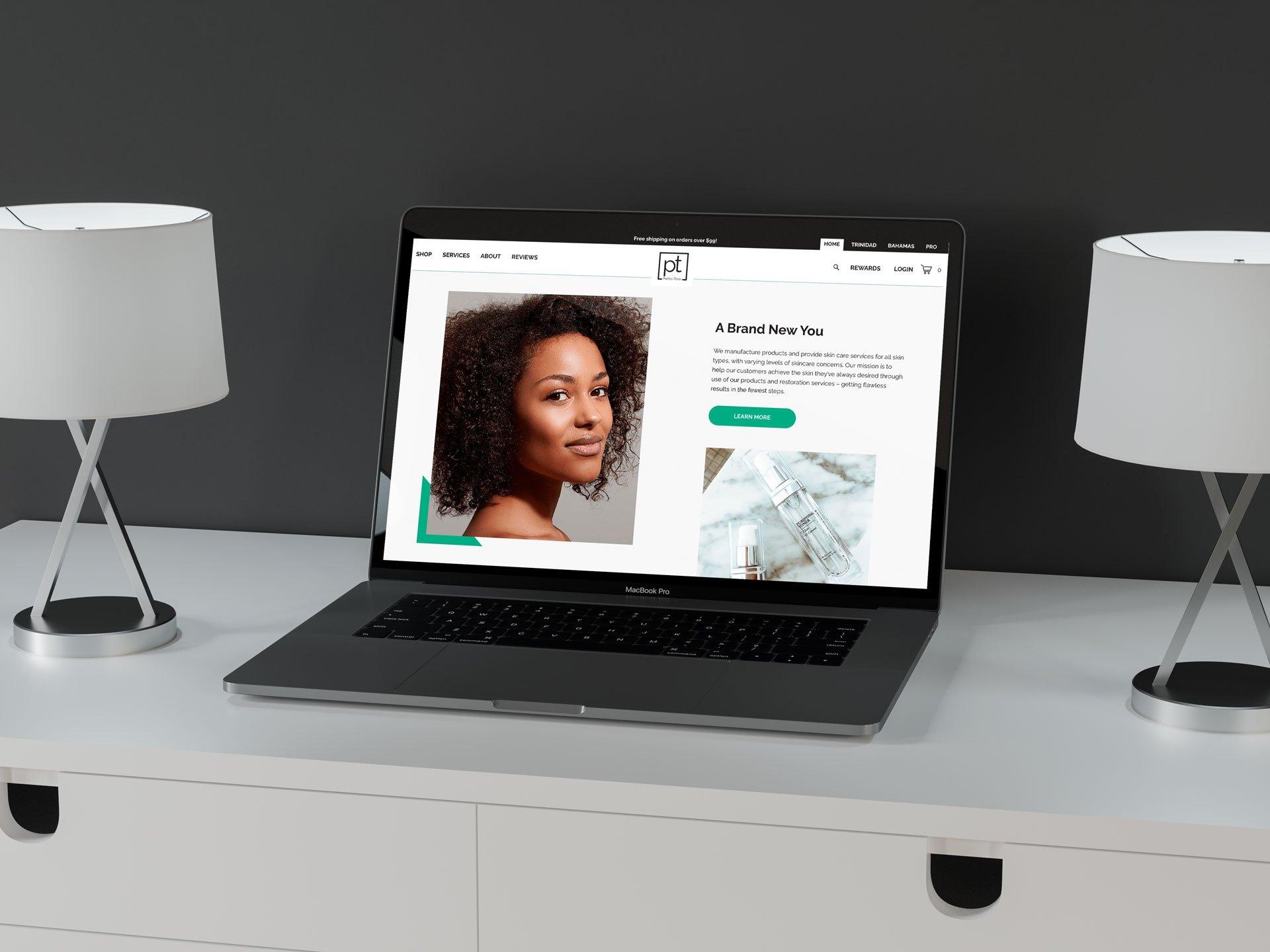 Skincare-Design-Agency-Site-Example