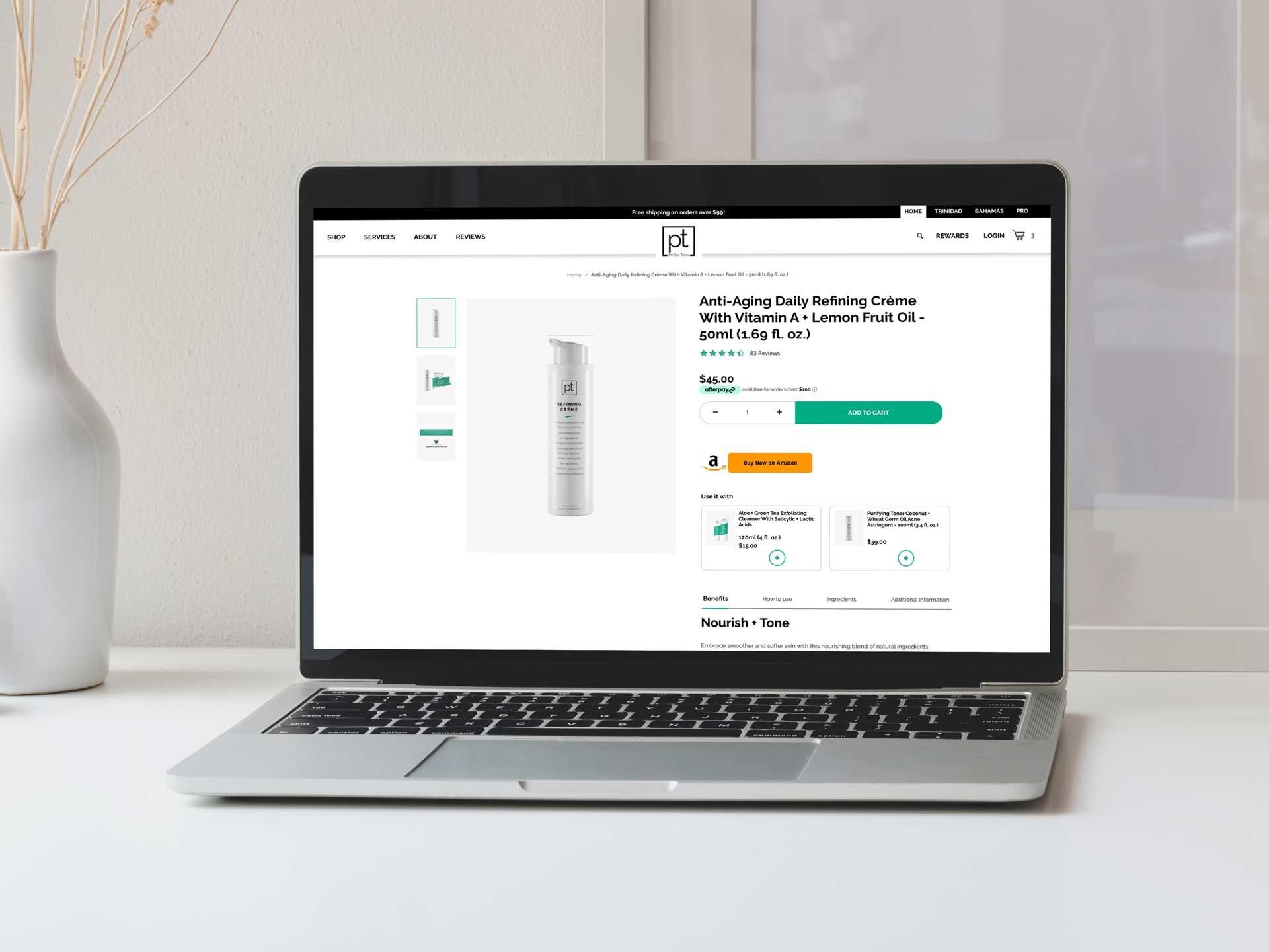 Skincare-Website-Design-Agency-Website-Amazon