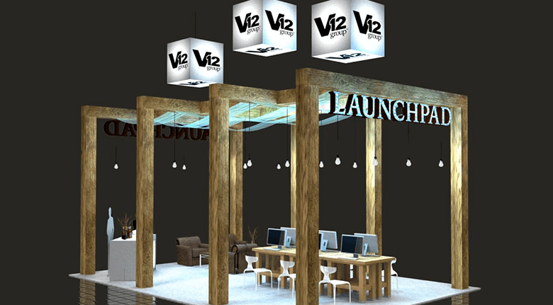 Trade Show Exhibits Custom Branded Booth