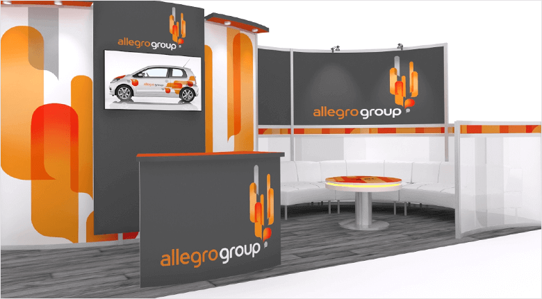 Trade Show Exhibits Blog - Modular Exhibit Rendering