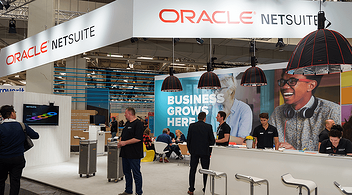 Oracle Netsuite Stand For Customer Acquisition At An Experiential Marketing Event