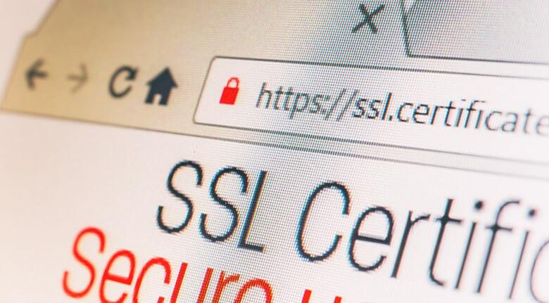 eCommerce Development Tips Site Security Screenshot