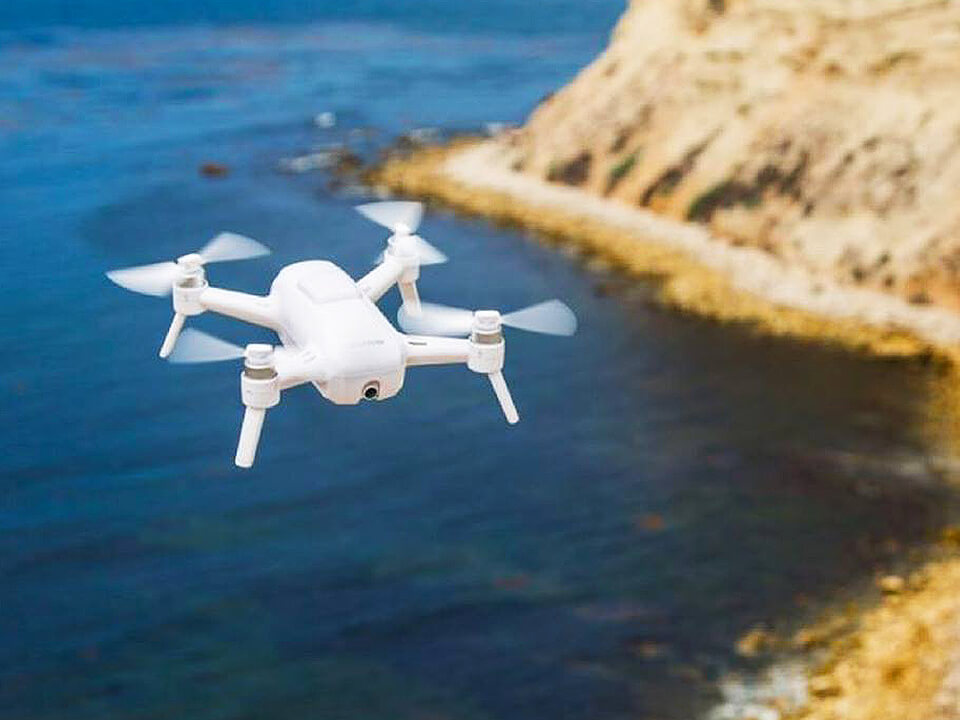 BigCommerce SEO Agency Photo of Drone for RC Model Retailer Flying Over An Ocean