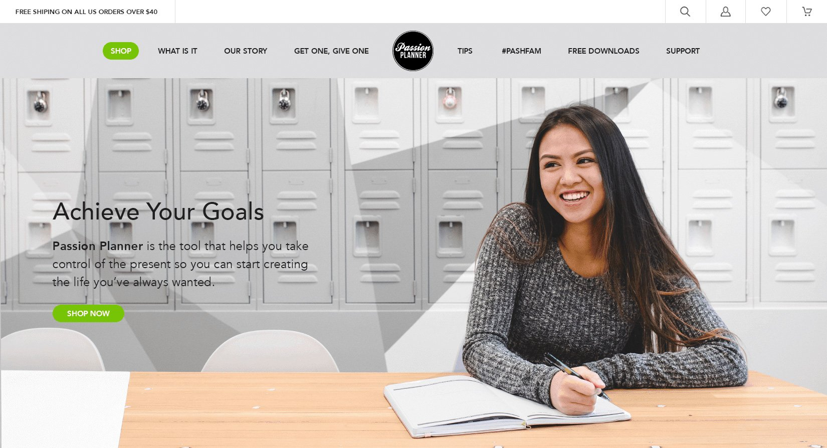Happy Smiling Young Lady Featured on Shopify Agency Website Design For School Supply Company