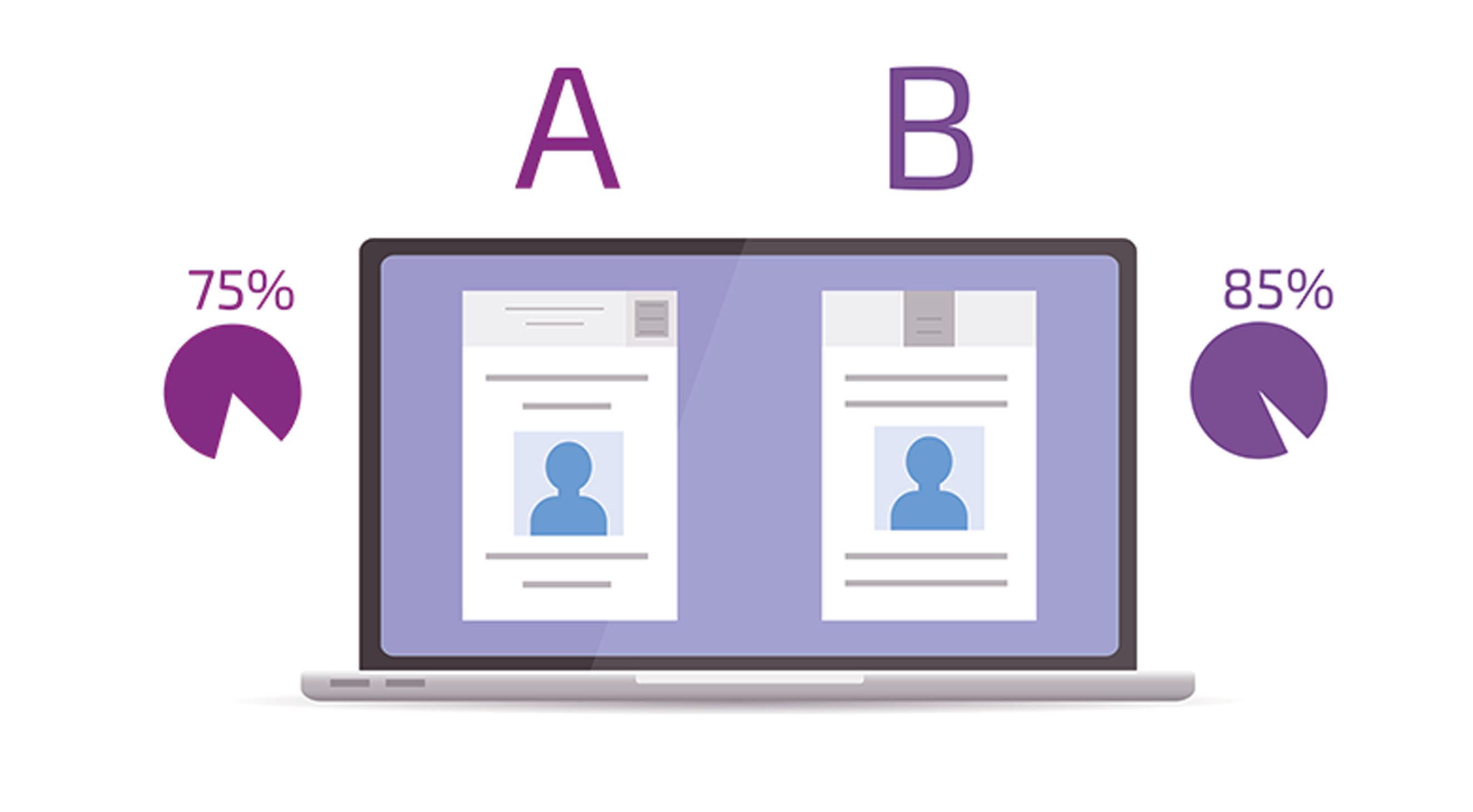 A/B Testing Iconography