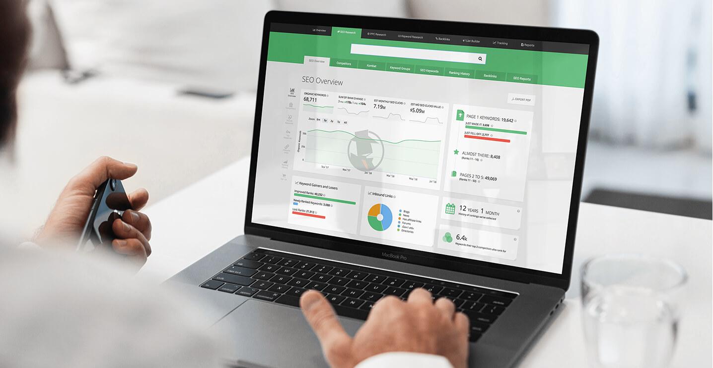 Expert eCommerce SEO Analysis Displayed On Laptop Screen