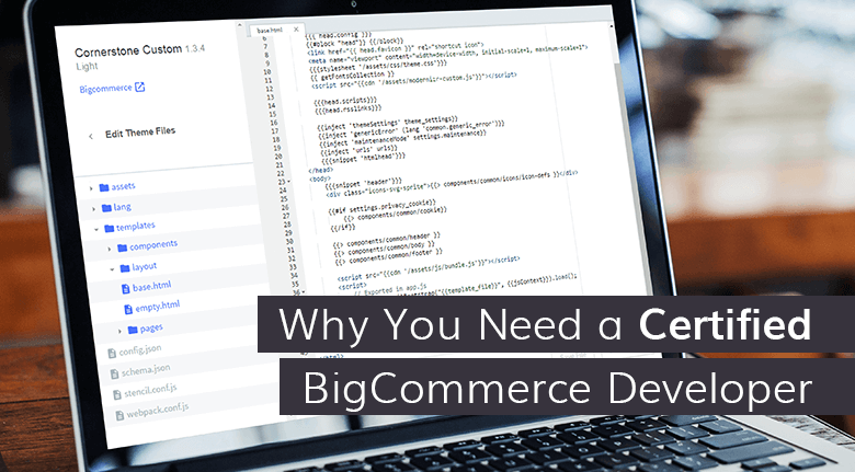 In other words, we should be doing things like0A0ABigCommerce Developers Website Designers