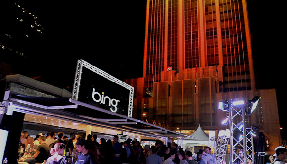 Microsoft Bing Event Design By Experiential Agency EMG