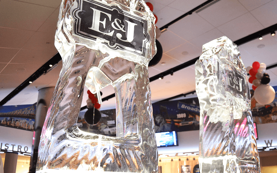 Ice Carvings As Part Of A Concert Event Marketing Services for Concert Promoter