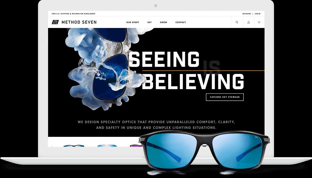 Full Service Marketing Company Website Design