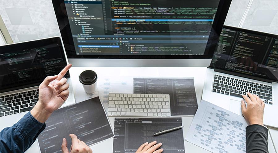 Web Development Project On Multiple Screens